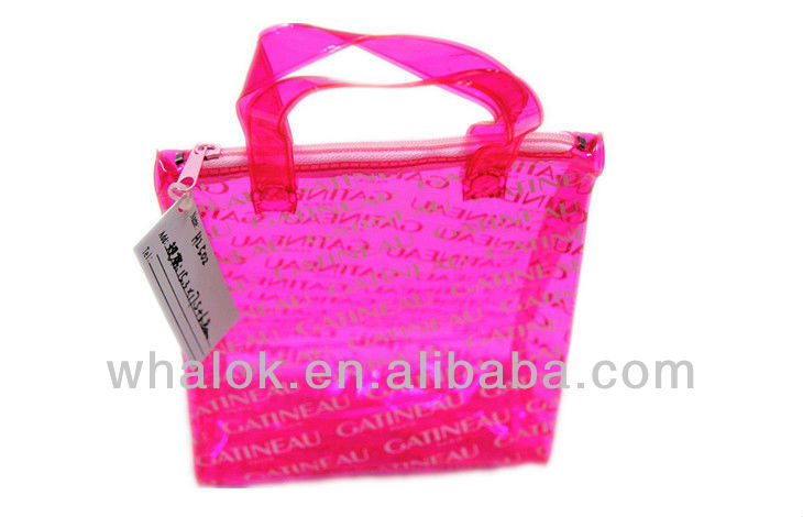 High Quanlity Zipper Handle Plastic Bag For Cosmetic Packing,Ungrouped manufacturer