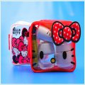 China supplier kitty summer beach swimming cosmetic bags for lady