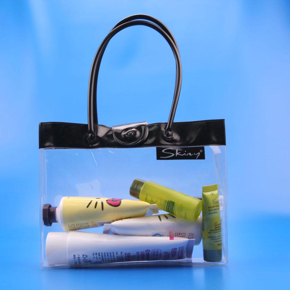 Dubai fashion pvc handbags supplier - piping/tube handle bag