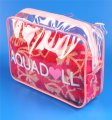 Factory Price high quality clear PVC zipper bag