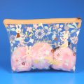 Fashionable Waterproof Transparent PVC Cosmetic Bag with Zipper for Girls
