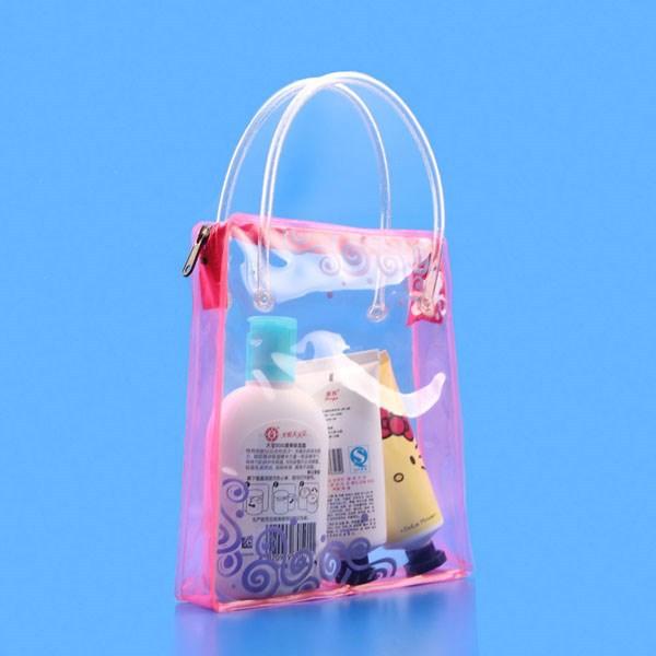 PVC handbag shape plastic gift bag manufacturer,PVC Promotional/Gift Bag manufacturer