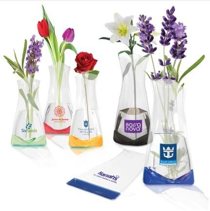 Plastic Vases for Flowers,PVC/EVA Vase manufacturer